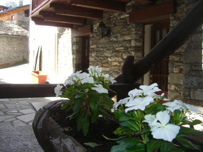 Nel cuore di borgo montano ai piedi del Monte Bianco
